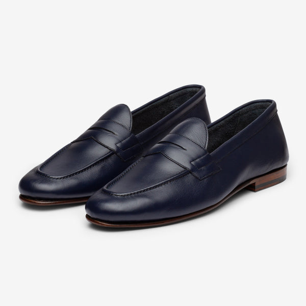 UNLINED LOAFER - BLUE