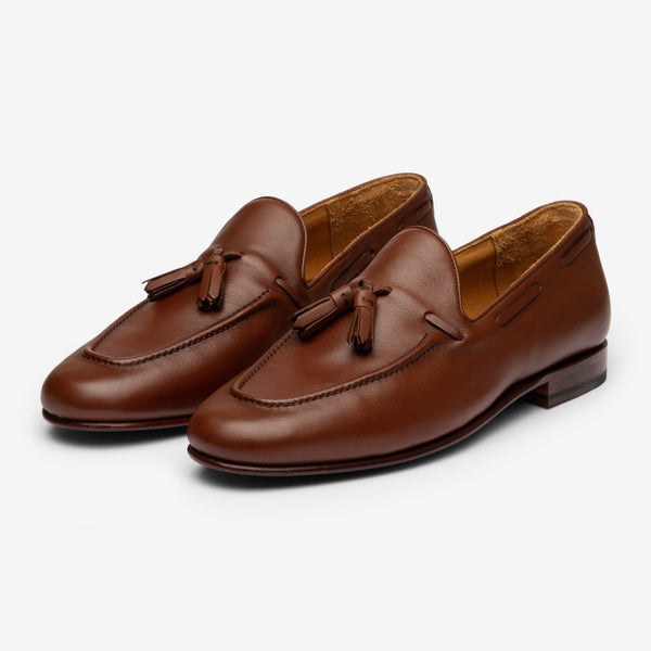 Tassel Loafer - Brown