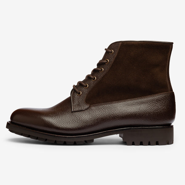 Field Boot in Bitter Chocolate - Goodyear Welted