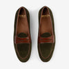 Belgian Loafer - Army Green