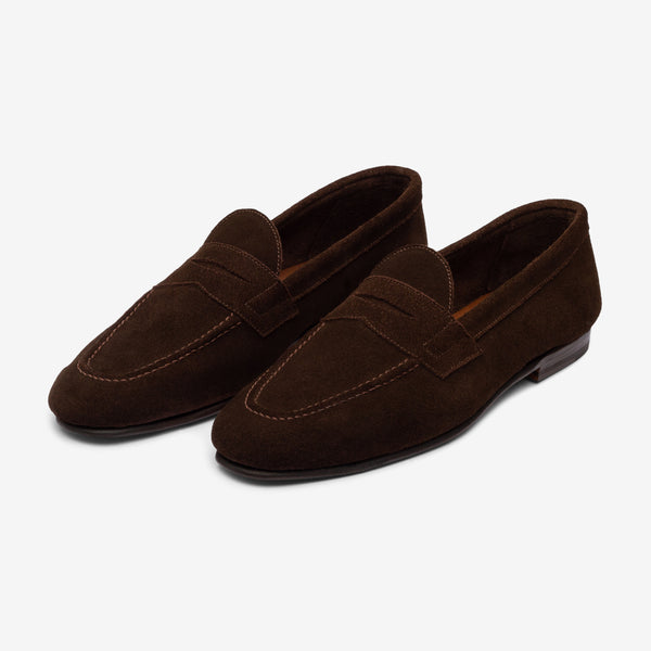 UNLINED LOAFER - COFFEE