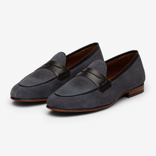 Belgian Loafer - Blue