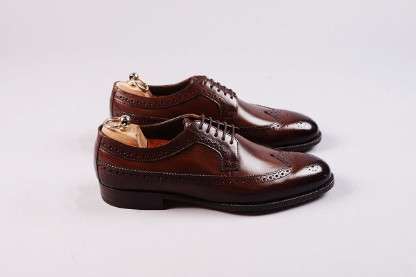 LONGWING DERBY – DARK BROWN