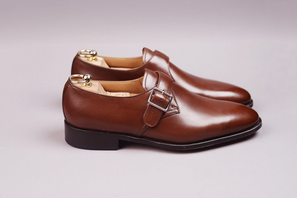 SINGLE MONK – DARK BROWN