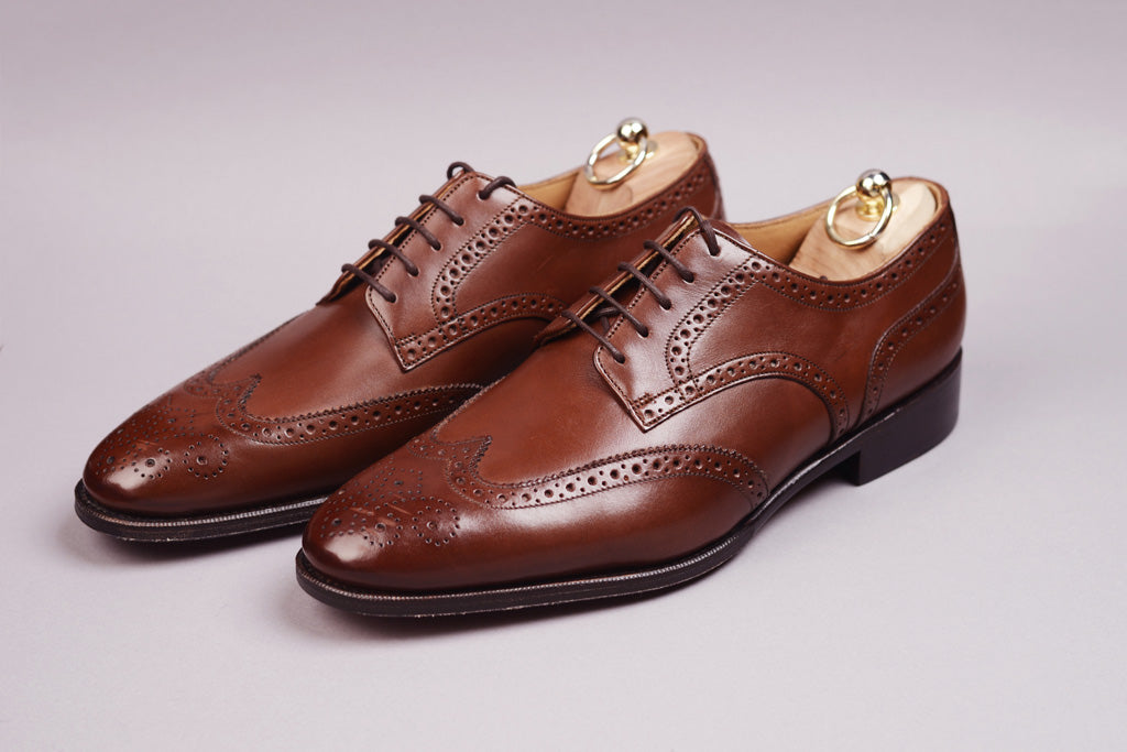 DERBY WING TIP – DARK BROWN