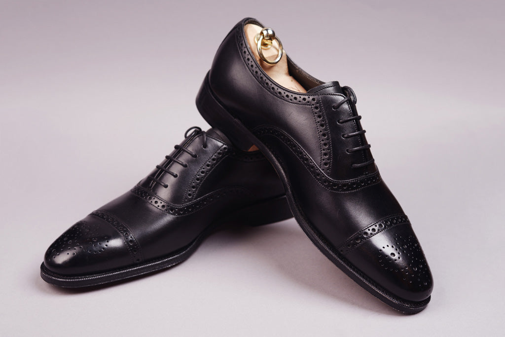 OXFORD CAP TOE – BLACK