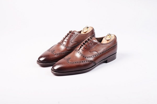 WINGTIP GLADSTONE OXFORD – DARK BROWN