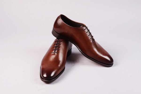 WHOLECUT OXFORD – DARK BROWN