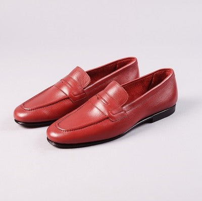 UNLINED LOAFER - MARRON