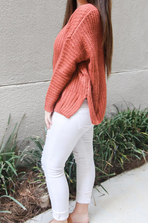 Orange/Red Sweater - Shop Core Collection