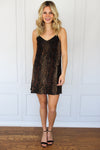 Black and Gold Snakeskin Dress - Shop Core Collection