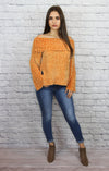 Chenille OTS Sweater - Shop Core Collection
