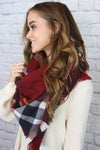Red Checkered Scarf - Shop Core Collection