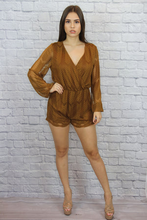 Brown Romper - Shop Core Collection