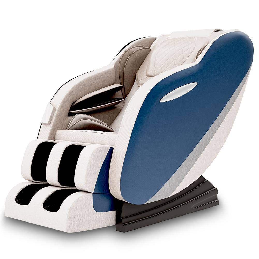 Favor-SS02 Shiatsu Zero Gravity Massage Chair with Foot Rollers and Bluetooth Speakers