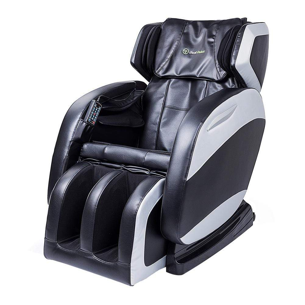 Favor-04 Full Body Shiatsu Massage Chair Recliner by Real Relax™<br>