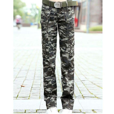 Pants & Capris - #0905 Spring Summer 2017 Women camouflage pants Casual Female Fashion Military Hip hop trousers women Baggy Cargo pants women -   jetcube