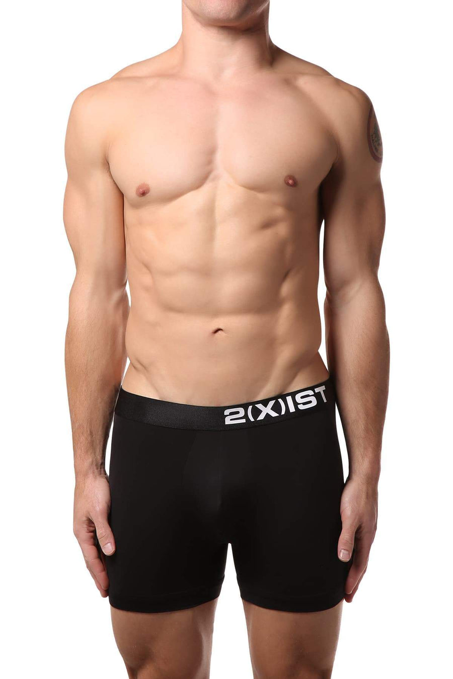 Boxer Briefs - 2(X)IST Black Electric Micro Boxer Brief -   jetcube