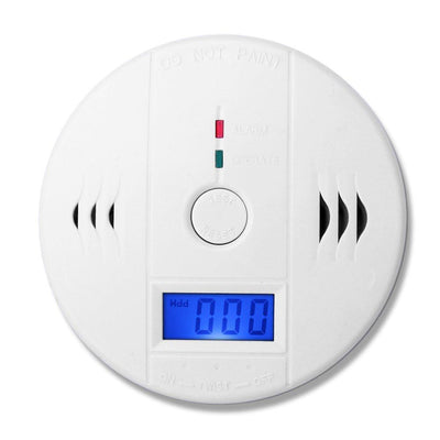 Fire Protection - (1 PCS)LCD Display CO Carbon Monoxide Poisoning Sensor Monitor Portable and Compact Alarm Detector Home Security -   jetcube