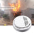 1 Pcs Fire Smoke Sensor Detector Alarm Tester 85dB Home Security System for Family Guard Office building Restaurant