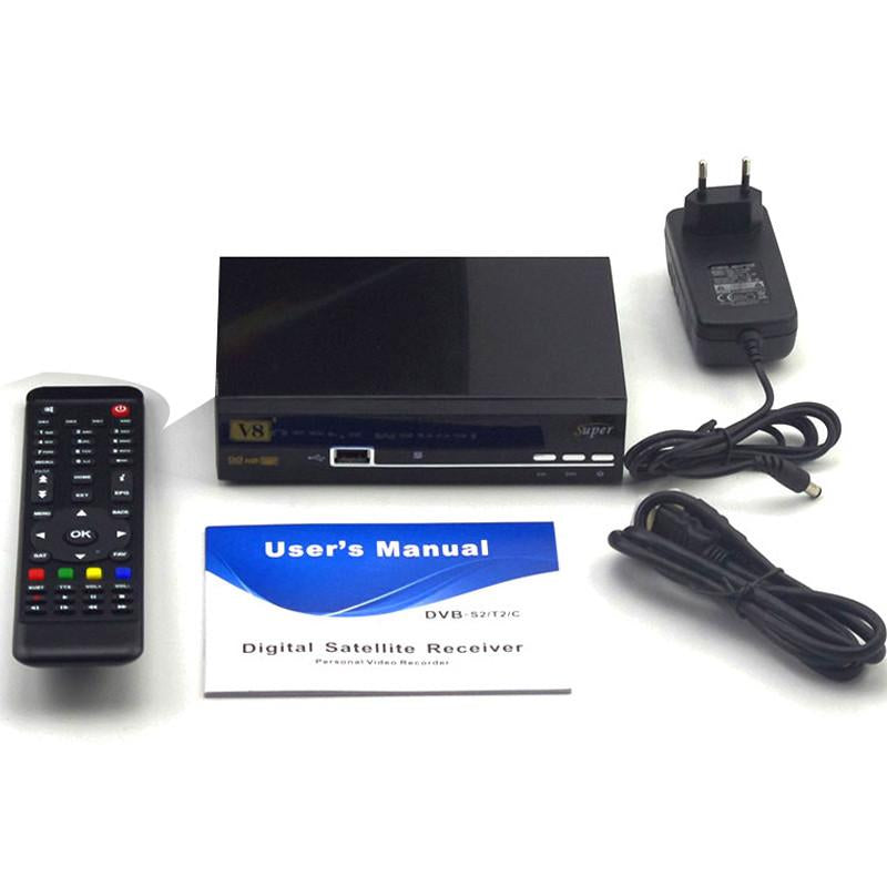 1 Year Europe Cccam Server HD Freesat V8 Super DVB-S2 Satellite Receiver  Full 1080P Italy Spain Arabic Cccam Cline With USB Wifi