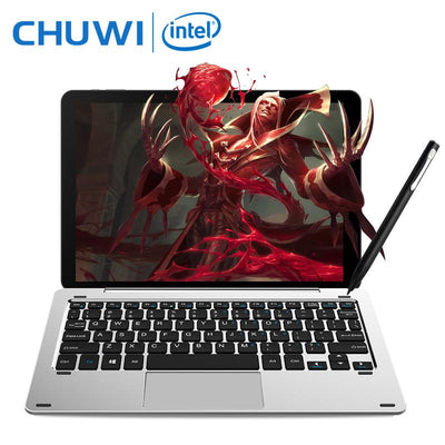 "Laptop - 10.1"" Chuwi Hi10 Pro 2 In 1 Tablet PC Superior Metal Tablet Intel Cherry Trail X5-Z8350 Windows 10 & Android 5.1 4G 64G IPS HDMI -   jetcube"