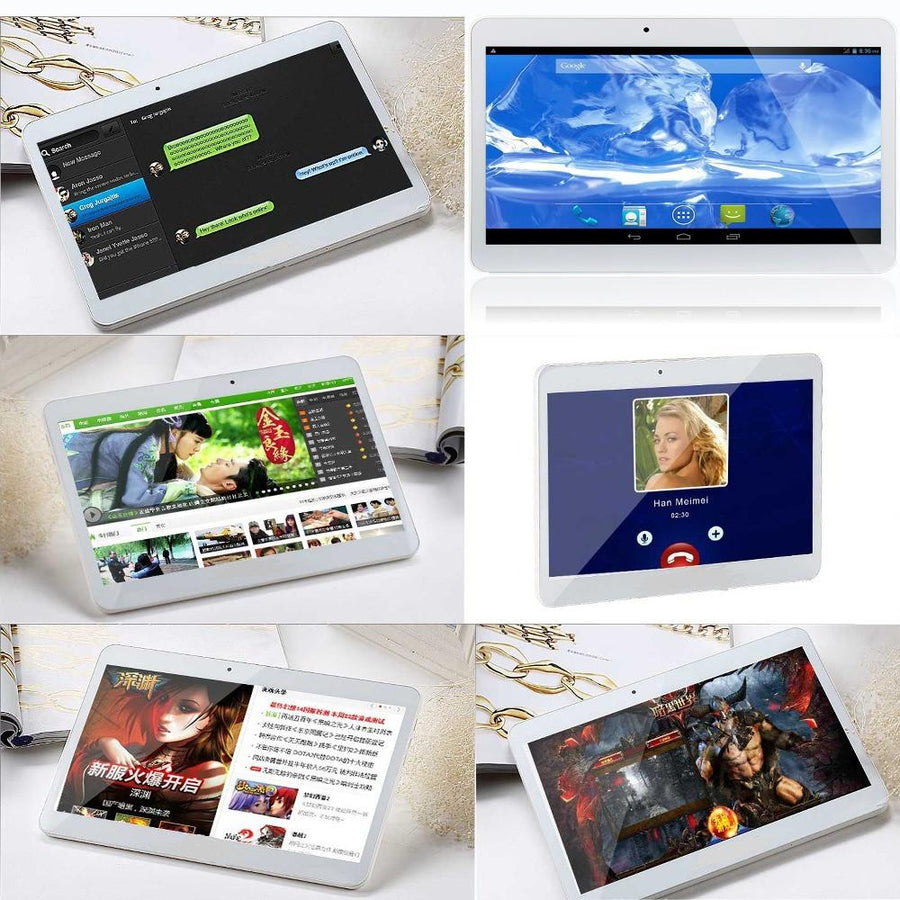 Phone Call Tablets - 10 Inch Original 3G Phone Call Android Quad Core Tablet pc Android 4.4 2GB RAM 16GB ROM WiFi GPS FM Bluetooth 2G+16G Tablets Pc -   jetcube