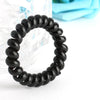 Hair Accessories - 10 PCS/lot Women Girls Ladies Hair Bands Black Colorful Elastic Rubber Telephone Wire Style Hair Ties  Plastic Rope Hairband -   jetcube