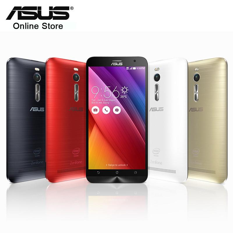 Cell Phone - 100% Original Asus ZenFone 2 ZE551ML 4GB RAM 32GB ROM Mobile Phone 5.5'' Intel Z3580 Quad Core 1920*1080 FDD LTE 13MP 2.3GHz NFC -   jetcube