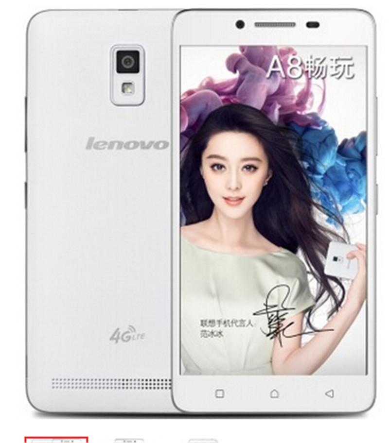 Cell Phone - 100% Original Lenovo A3860 A3860d A8 Cell Phone Android 5.1 MTK6735P 5.0'' 1780*720p 1GB RAM 8GB ROM  8MP+2MP GPS Dual SIM -   jetcube