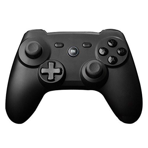 100% Original Xiaomi Mi Wireless Bluetooth Game Handle Controller Remote GamePad For Smart TV PC+2 batteries + retail box+holder Gamepads PERZEN Electronic(SHENZHEN) CO.,LTD- upcube