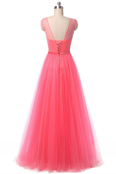 Evening Dresses - 100% Real Photo Cheap Bling Elegant A Line Crystal Long  Evening Dress 2017 Floor-Length Sleeveless Vestido de Festa -   jetcube