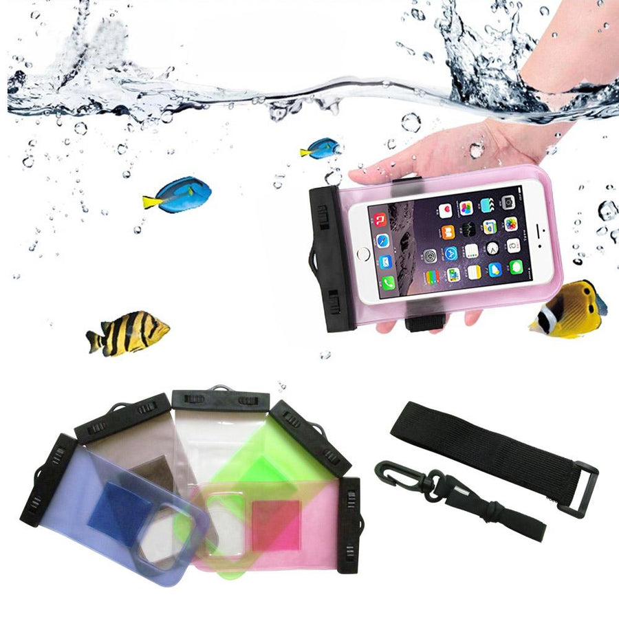 Fitted Cases - 100% Sealed Mobile Waterproof Bags Phone Pouch Bag Underwater Case for iPhone 6/6 Plus/5S/5C/5/4S Samsung Galaxy S6/S5/S4 5 -   jetcube