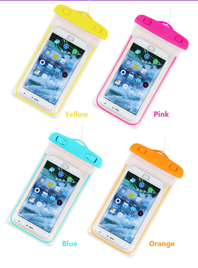 Fitted Cases - 100% sealed Waterproof Durable Water proof Bag Underwater back cover Case For iPhone For touch Pouch For Samsung Galaxy For HTC -   jetcube