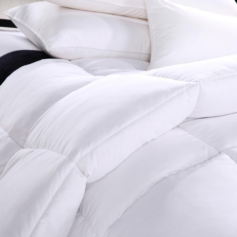 Comforters - 100% white warm Winter Goose Down Comforter Quilt Warmly White Comforter King Size Bedding Set king size christams gift -   jetcube