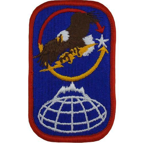 Patches and Service Stripes - 100th Missile Defense Brigade Class A Patch -   jetcube