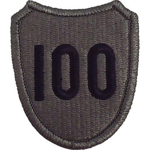 Patches and Service Stripes - 100th Division (Training) ACU Patch -   jetcube