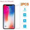 Screen Protectors - 2 Pack Ultra Thin HD Premium Tempered Glass Screen Protector for iPhone 6- iPhone X -   jetcube