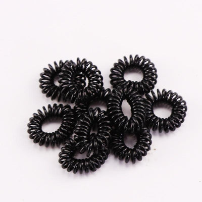 Girls Clothing - 10PCS Lot New 2cm Small Telephone Line Hair Ropes Girls  Colorful Elastic 627b9aa0e1b