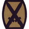 Patches and Service Stripes - 10th Mountain Division MultiCam (OCP) Patch -   jetcube