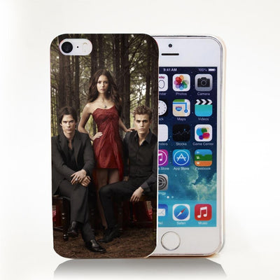 Vampire diaries - 1731-HOQE The Vampire Diaries Plastic  Transparent Hard Case Cover for iPhone 6 6s plus 5 5s 5c 4 4s Phone Cases -   jetcube