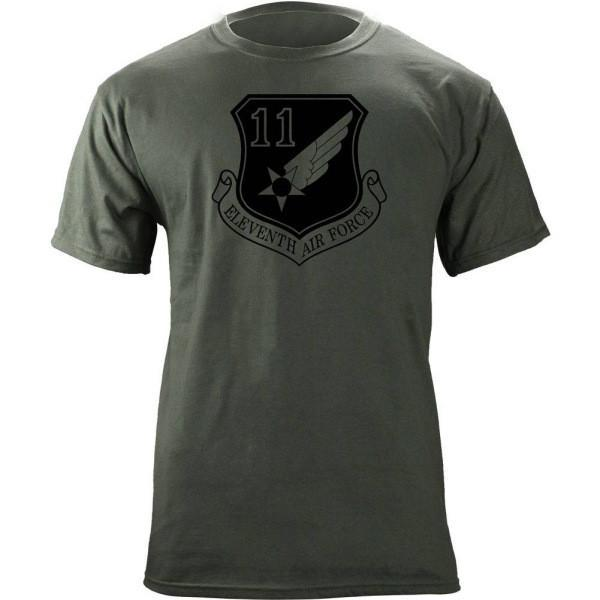 Shirts - 11th Air Force Subdued Patch T-Shirt -   jetcube