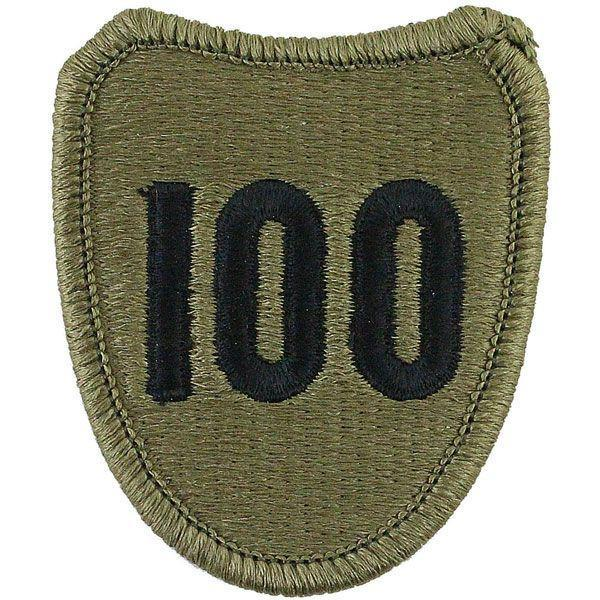 Patches and Service Stripes - 100th Division Training USAR Multicam (OCP) Patch -   jetcube