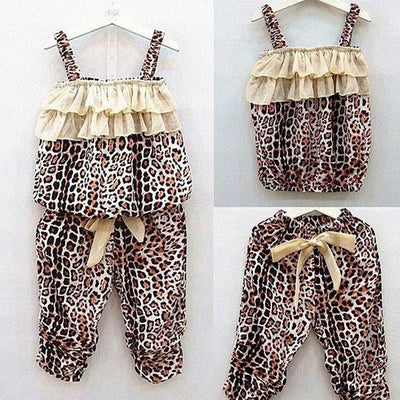 Girls Clothing - 2-6Y New 2 Pieces Baby Girls Clothing Sets Kids Children Vest + Pants Clothes Suits Outfits Clothes Set -   jetcube