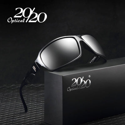 Sunglasses - 20/20 Brand Classic Sunglasses Men Polarized Glasses Driving Luxury Metal accessories Sun Glasses for Men Oculos Gafas PL73 -   jetcube