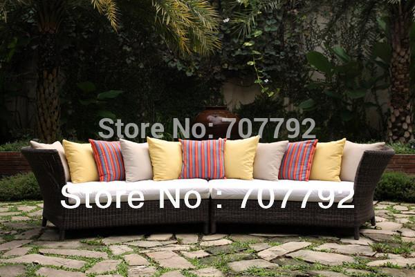 Outdoor Furniture - 2013 New Design outdoor rattan new model sofa sets -   jetcube