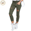 Pants & Capris - 2016 Fashion Women Pants Hollow Out Pants Women Sweatpants Cargo Jogger Pants Skinny Stretch Slim Fit Army Green Pencil Pants -   jetcube