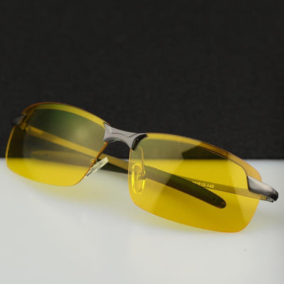 Sunglasses - 2016 HD Professional Driving Glasses Night Vision Polarized Sun Glass for Driver Goggles Yellow Lens Sunglasses -   jetcube