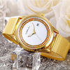 Women's Watches - 2016 High Quality Watch Relogio Feminino Luxury Brand Women Dress Watches Steel Quartz Watch Diamonds Gold Watches Womans Waches -   jetcube