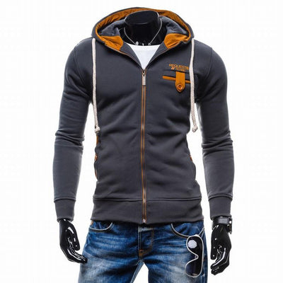 - 2016 Hoodies Men Sudaderas Hombre Hip Hop Mens Brand Cowl Spell Color Trend Hoodie Sweatshirt Slim Fit Men Hoody XXL -   jetcube